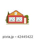 住宅 住居 家のイラスト 42445422