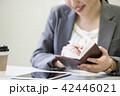 ビジネス 女性 ビジネスウーマンの写真 42446021
