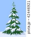 樹木 樹 ツリーのイラスト 42446921