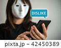 マスクの女 42450389