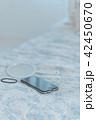 スマートフォン 手鏡 鏡の写真 42450670