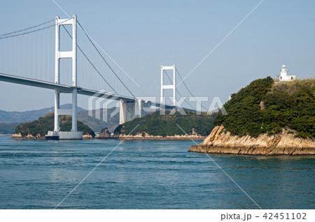 来島海峡大橋の景色 42451102