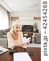 女の人 女性 老人の写真 42454268