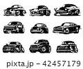 ベクトル マンガ 車のイラスト 42457179
