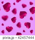 Glass Polygonal Heart Random Seamless Pattern 42457444