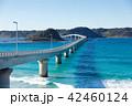 角島大橋 海 橋の写真 42460124