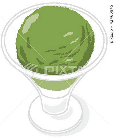 アイスクリーム 抹茶 42460845