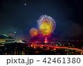 打ち上げ花火 花火大会 福岡市の写真 42461380