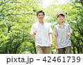 ミドル夫婦 ゴルフ スポーツ イメージ 42461739