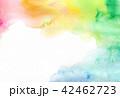 水彩 にじみ テクスチャーのイラスト 42462723