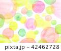 水彩 テクスチャー テキスタイルのイラスト 42462728