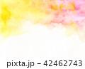 水彩 にじみ テクスチャーのイラスト 42462743