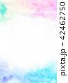 水彩 にじみ テクスチャーのイラスト 42462750