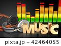 ウェイブ ミュージック 音楽のイラスト 42464055