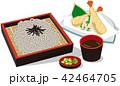ざる蕎麦 天ぷら蕎麦 42464705