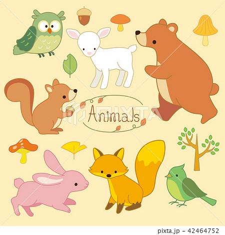 動物イラストセット 42464752