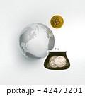 ビットコイン コイン 硬貨のイラスト 42473201