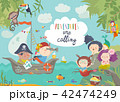 Cute pirates and beautiful mermaids 42474249