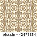 シームレス 和柄 ジャパニーズのイラスト 42476834