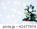 クリスマス クリスマスツリー 装飾の写真 42477974