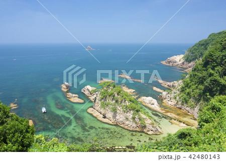 鳥取県の浦富海岸 42480143