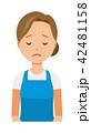 ベクター 女性 主婦のイラスト 42481158