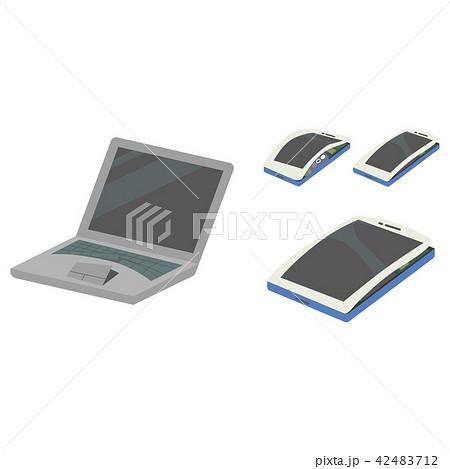 バッテリー 膨張 電子機器 スマートフォン ノートパソコン タブレット 42483712
