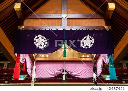 大相撲 吊り屋根 42487491