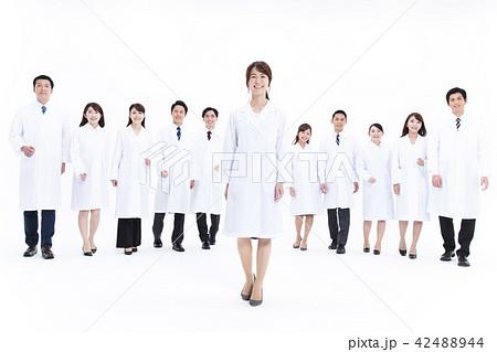 科学者 医者 科学 チーム 大人数 研究 女性 男性 42488944