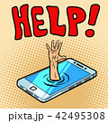 フォン 電話 ベクトルのイラスト 42495308