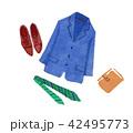 ビジネスファッション 男性 42495773