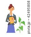 仕事 女性 42495808