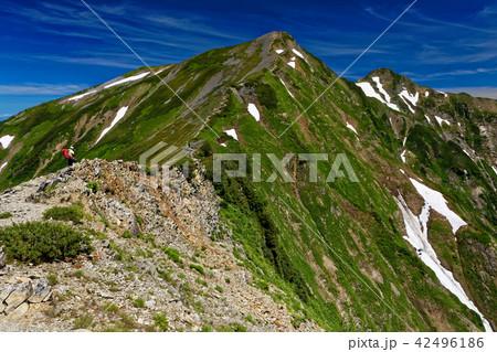 布引山から見る鹿島槍ヶ岳 42496186
