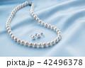 アクセサリー ネックレス 真珠の写真 42496378