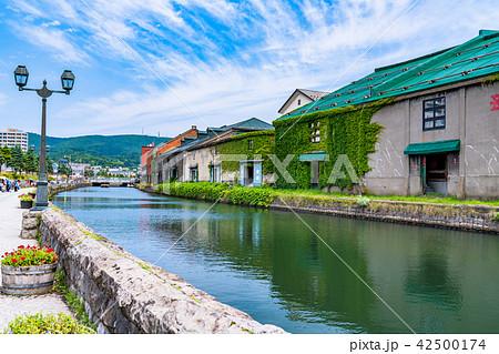 《北海道》小樽運河・観光地 42500174