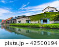 小樽 小樽運河 運河の写真 42500194
