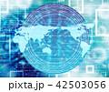 世界地図 グローバル ビジネスのイラスト 42503056