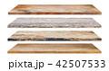 Wooden shelves 42507533