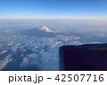 富士山 上空 山の写真 42507716
