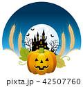 ハロウィン背景素材 42507760