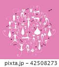 ねこ ネコ 猫のイラスト 42508273