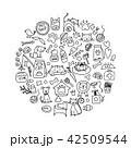 ペット 愛玩動物 動物のイラスト 42509544