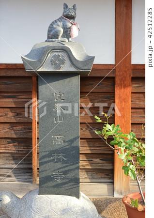 猫の石像(高林寺/大阪府堺市堺区神明町東3-1-3) 42512285