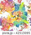 花 アマリリス ヒッペアストルム属のイラスト 42513095