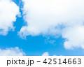 青空 空 雲の写真 42514663