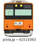 中央快速線201系(晩年・快速幕) 42515063