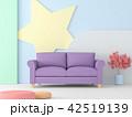 空間 部屋 ソファーのイラスト 42519139