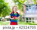 学校 子 バックの写真 42524705