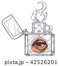 ライター 火 炎のイラスト 42526201