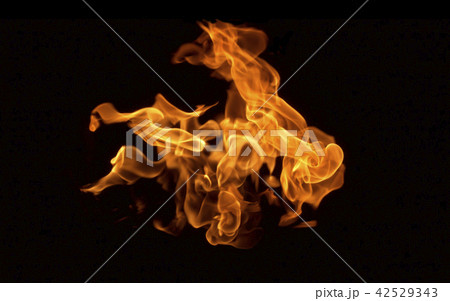 Flame heat fire abstract background 42529343